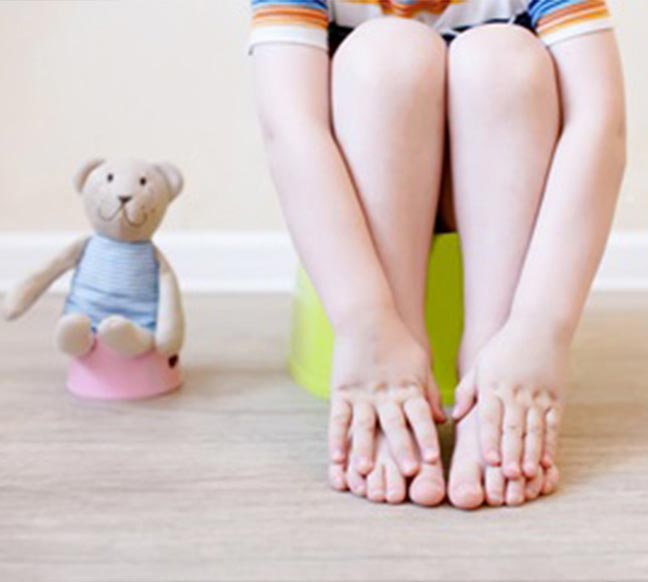 Here how can help your child use the potty 4