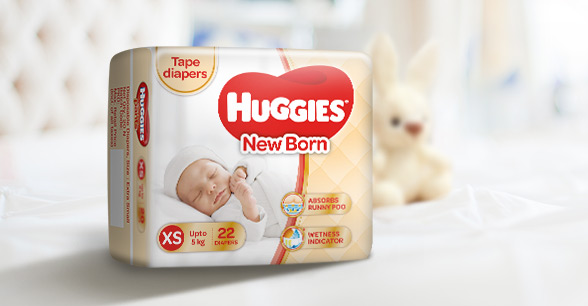 Huggies New Born Diapers