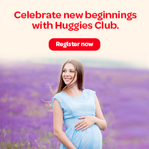 Celebrate new beginings with Huggies Club.